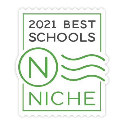 2021 Niche Best Schools Badge